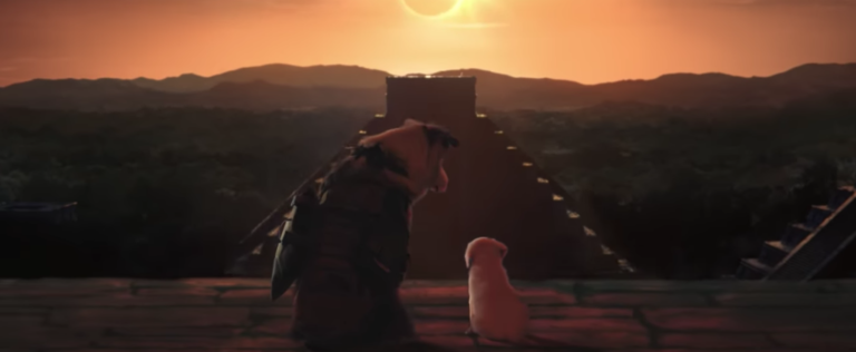 The trailer of the new Tomb Raider parodied to perfection with dogs and cats