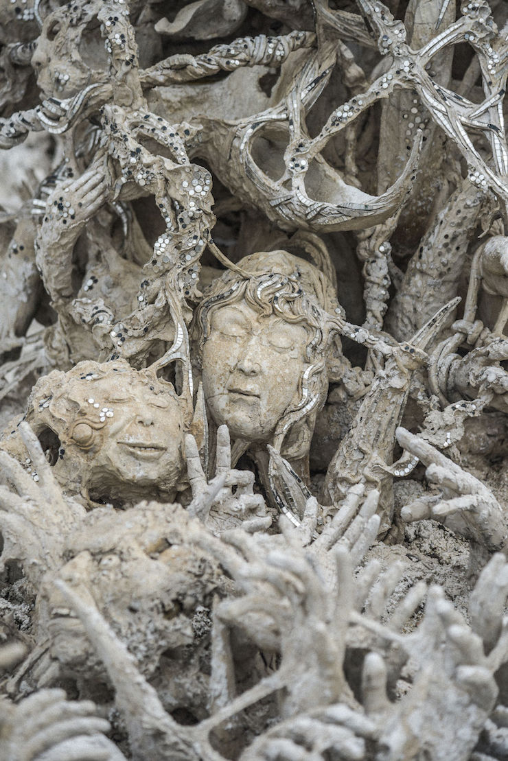 In Thailand, this unique temple in the world is the perfect mix between Heaven and Hell