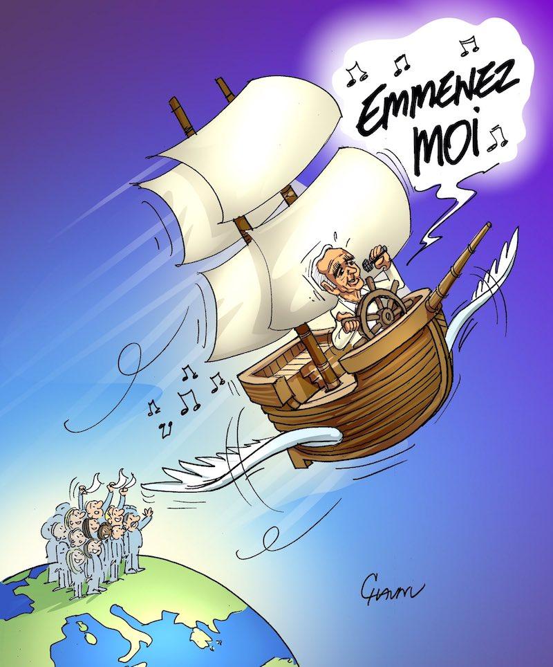 Charles Aznavour l'hommage des illustrateurs  Chaunu-Ouest-France