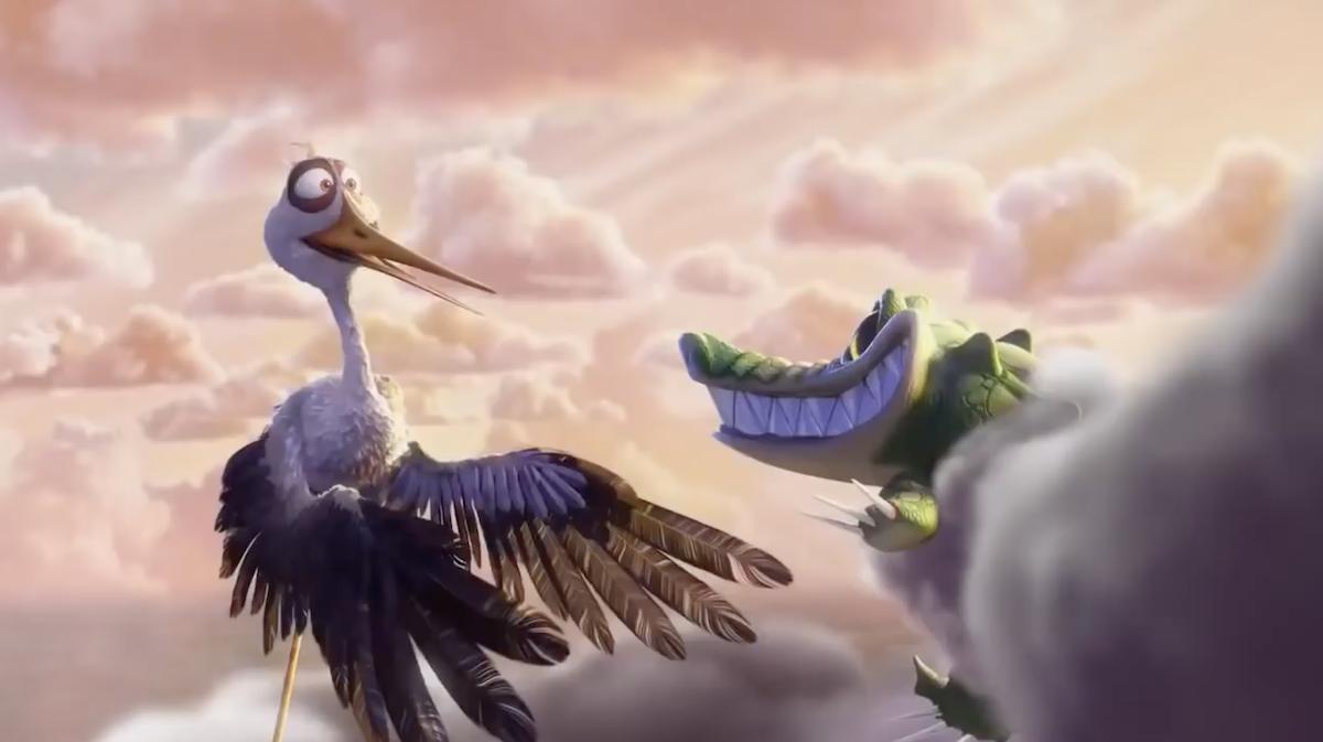 Pixar met en scène des nuages et des cigognes qui apportent la vie sur Terre ! By Mélissa N.   Partly-cloudy-pixar-nuages-cigognes-vie-2