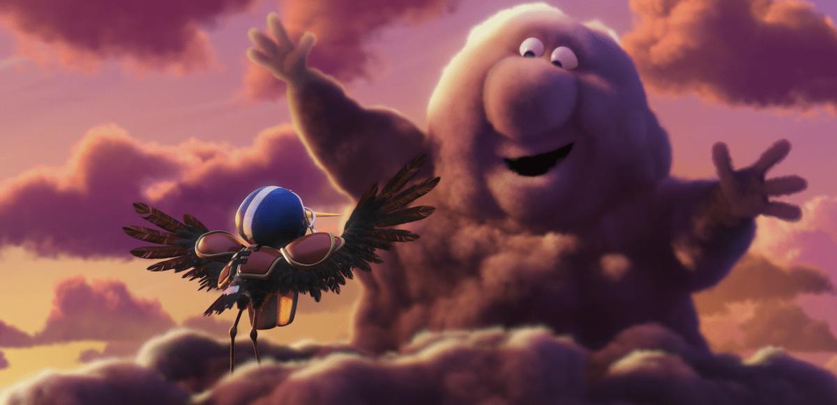 Pixar met en scène des nuages et des cigognes qui apportent la vie sur Terre ! By Mélissa N.   Partly-cloudy-pixar-nuages-cigognes-vie-5