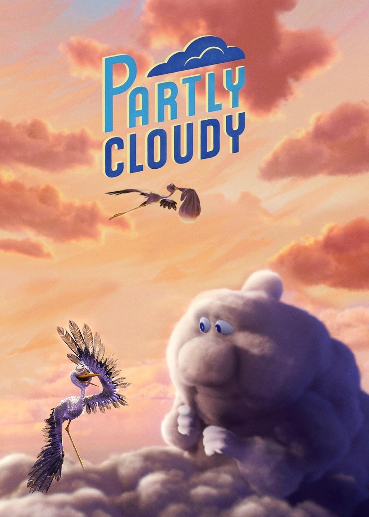 Pixar met en scène des nuages et des cigognes qui apportent la vie sur Terre ! By Mélissa N.   Partly-cloudy-pixar-nuages-cigognes-vie-6