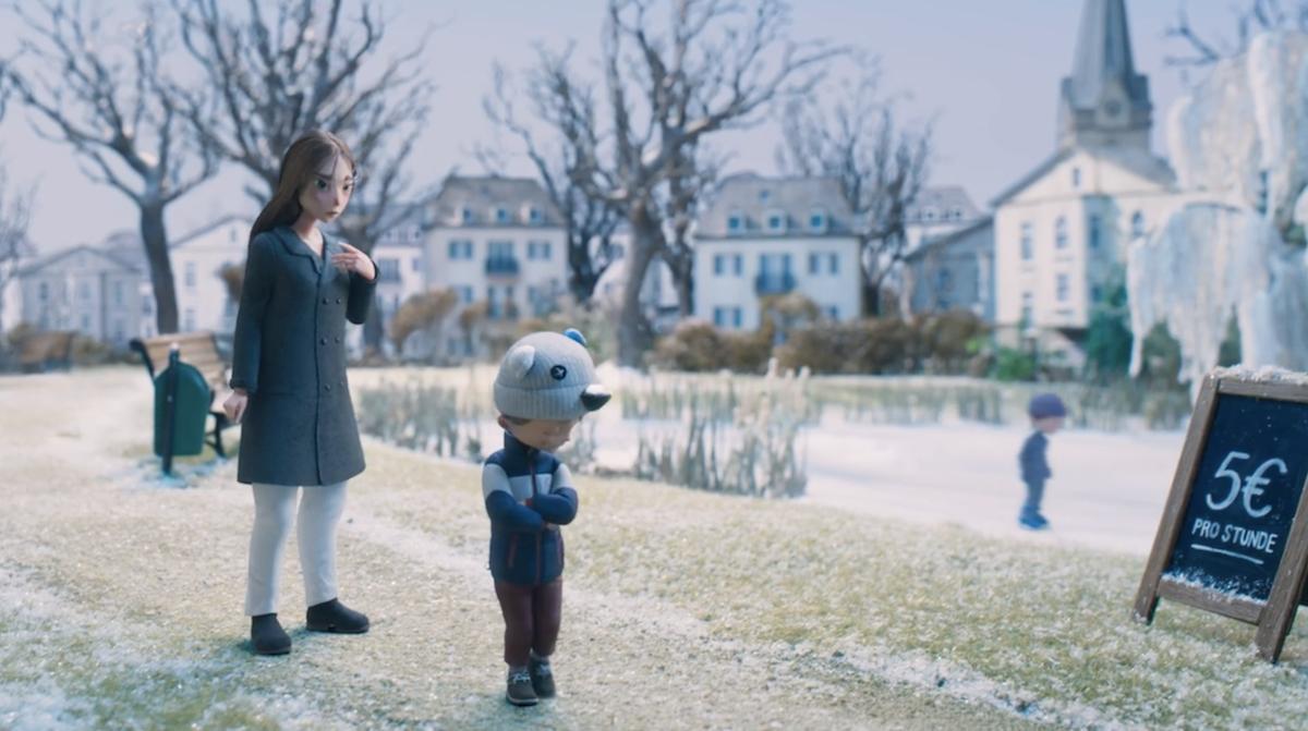 Ce petit film touchant nous prouve que Noël n'a besoin de rien, si ce n'est que d'amour ! By Thomas R. Penny-film-noel-amour-4