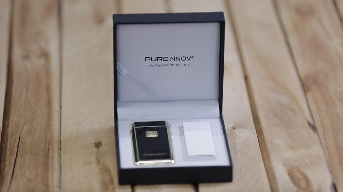 Pureinnov : le briquet sans flamme qui produit un arc électrique puissant à la manière d'un taser ! By  Claire L. Pureinnov-briquet-ar-electrique-taser-7