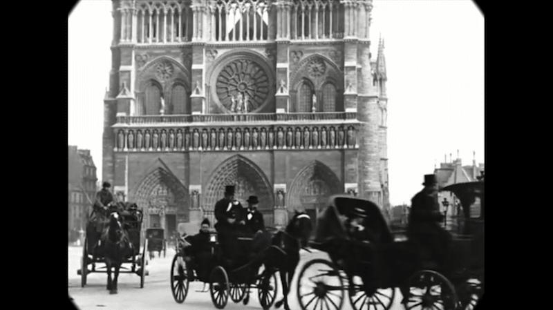 Cet impressionnant film restauré nous fait découvrir le Paris des années 1900 avec une qualité unique ! By  Claire L. Reconstitution-paris-vintage-1890-lumiere-freres-1