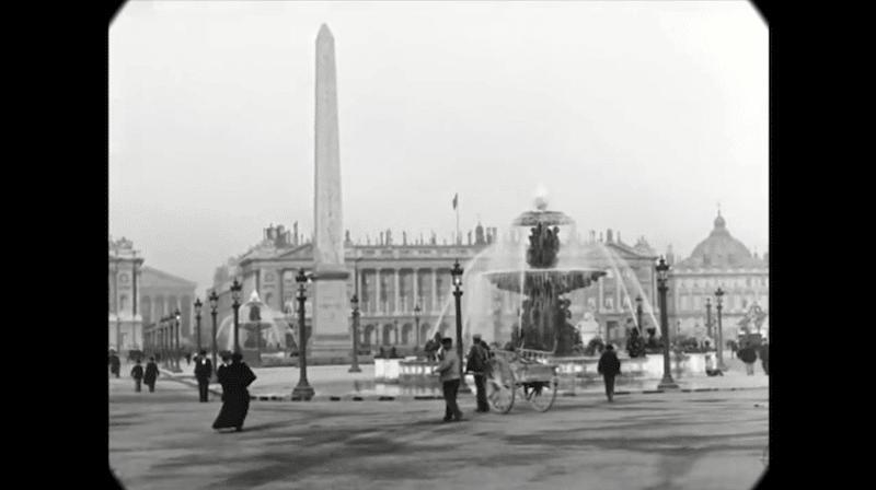 Cet impressionnant film restauré nous fait découvrir le Paris des années 1900 avec une qualité unique ! By  Claire L. Reconstitution-paris-vintage-1890-lumiere-freres-4