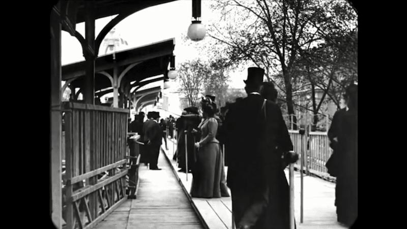 Cet impressionnant film restauré nous fait découvrir le Paris des années 1900 avec une qualité unique ! By  Claire L. Reconstitution-paris-vintage-1890-lumiere-freres-7