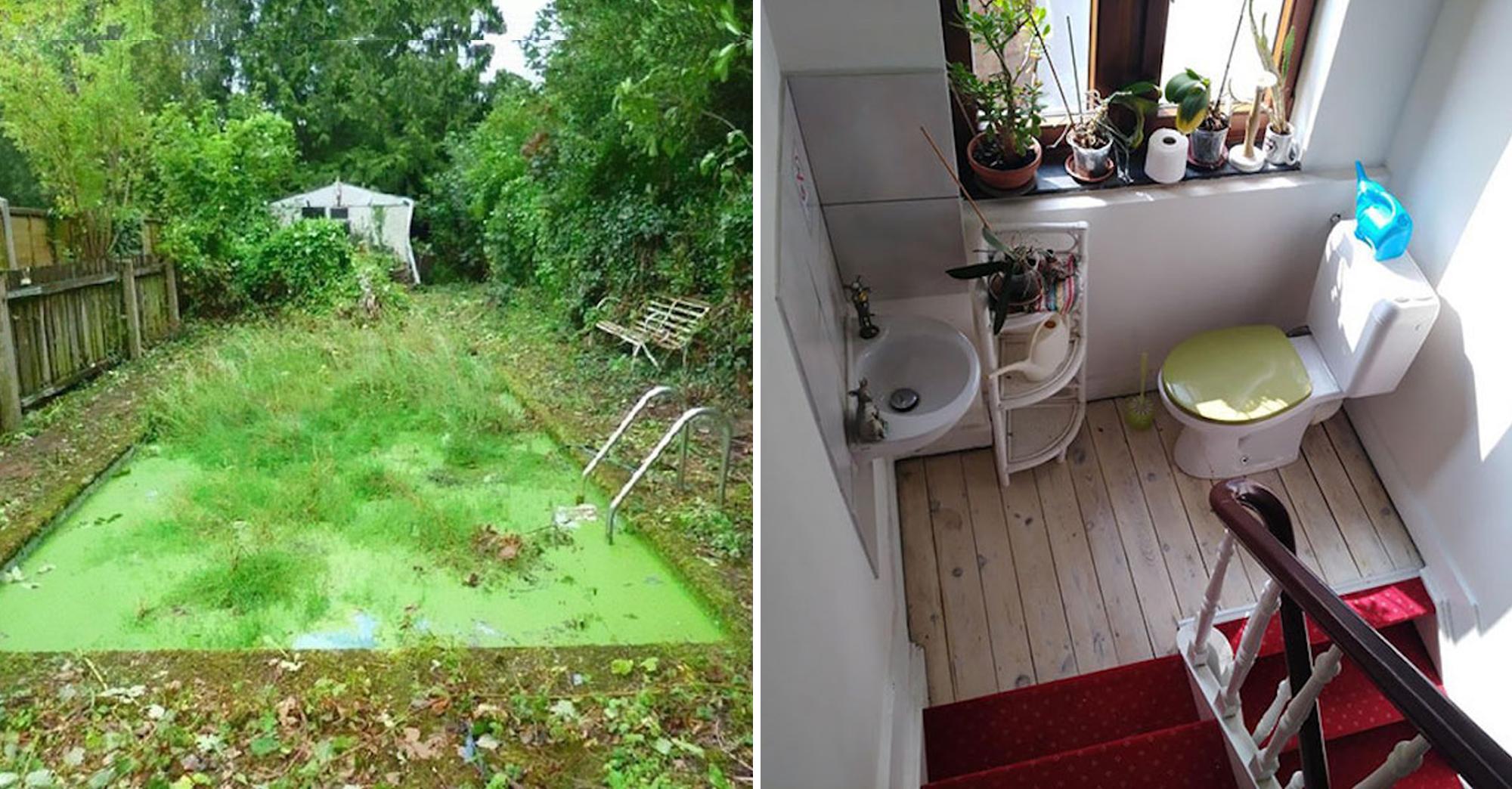 Ce site rassemble les pires photos prises par les agents immobiliers pour promouvoir des biens