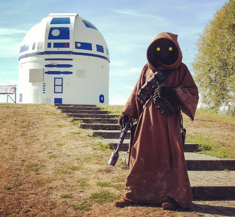 observatoire façon R2-D2 Observatoire-star-wars-r2d2-14