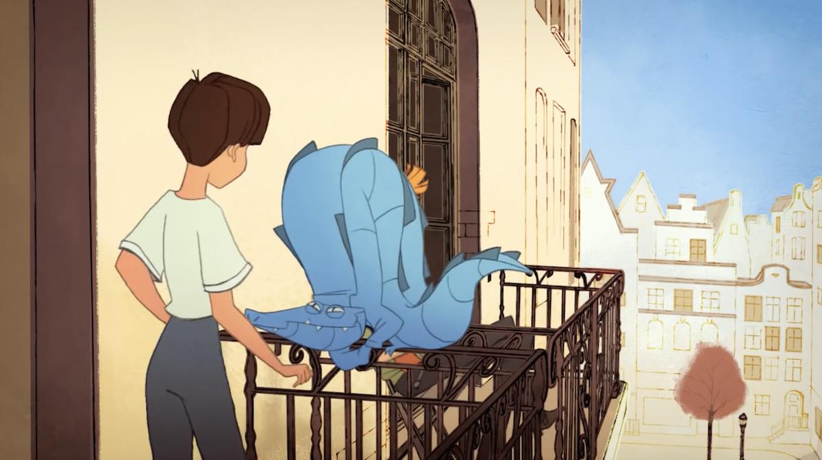 Un crocodile empoisonne la vie d'une jeune femme dans un court-métrage parfait sur la timidité ! By Thomas R.  Court-metrage-timidite-crocodile-gobelins-5