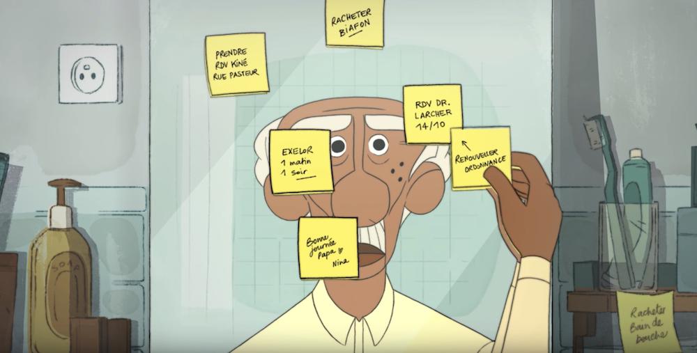MEMO : le court-métrage touchant qui tente de représenter visuellement la maladie d'Alzheimer