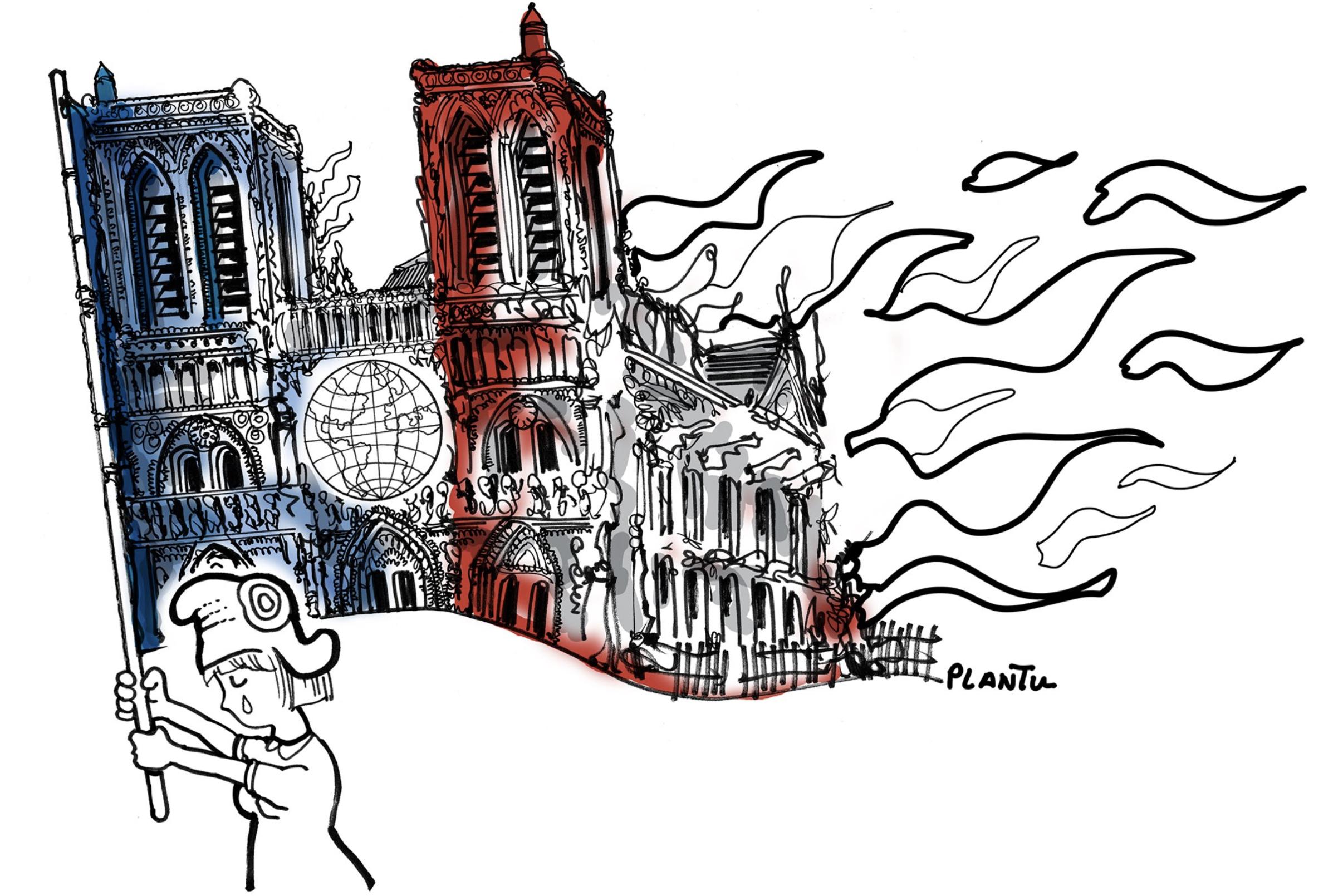 Hommage à Notre Dame de Paris Notre-dame-illustrations-hommage-incendie-11