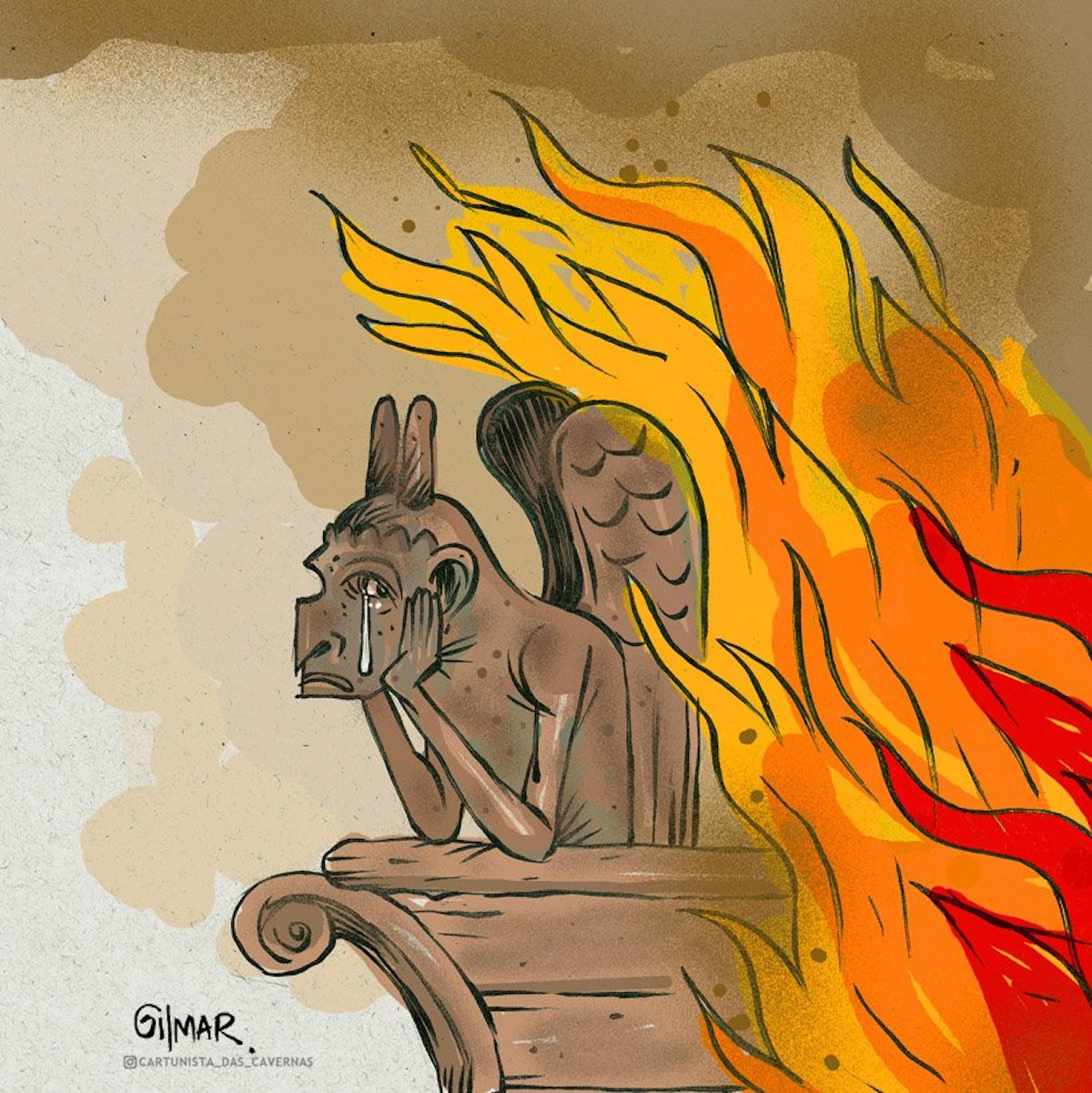 Hommage à Notre Dame de Paris Notre-dame-illustrations-hommage-incendie-15