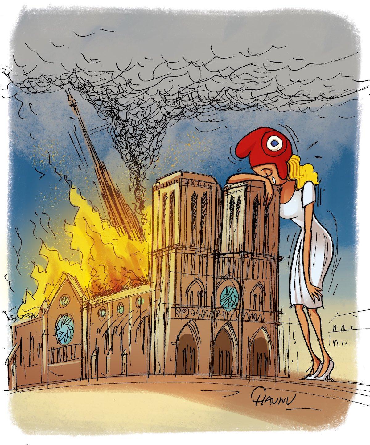 Hommage à Notre Dame de Paris Notre-dame-illustrations-hommage-incendie-222