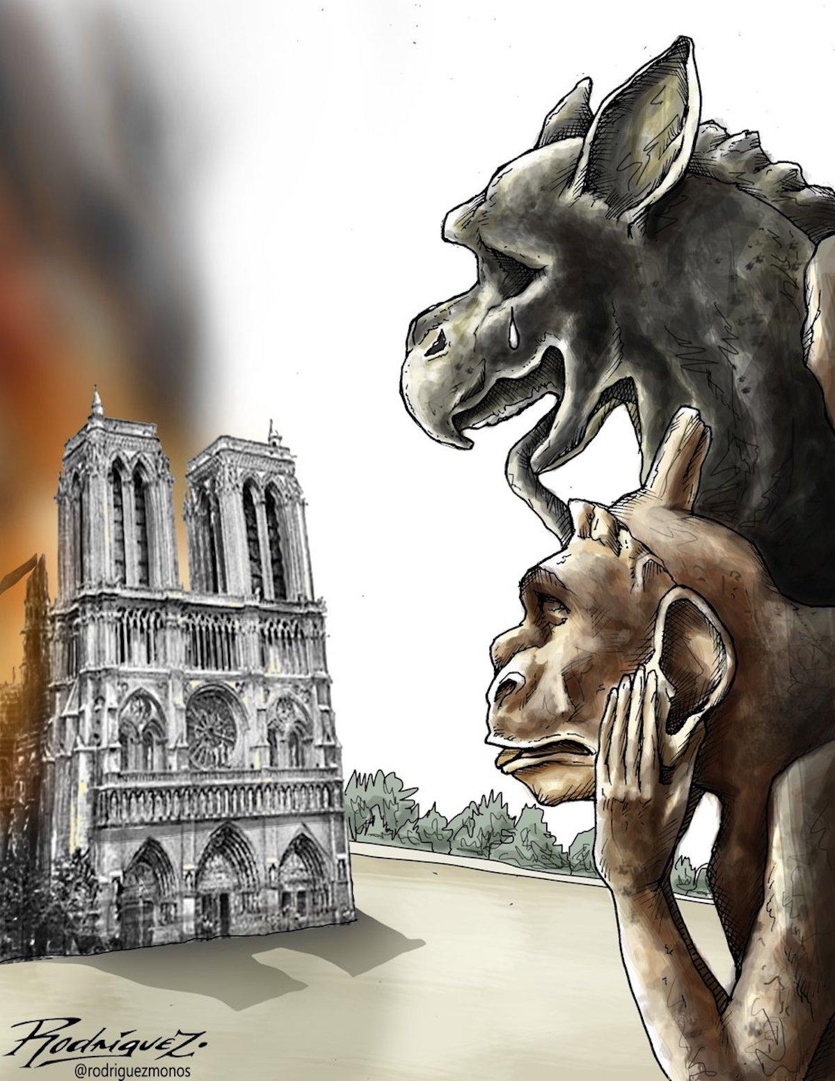 Hommage à Notre Dame de Paris Notre-dame-illustrations-hommage-incendie-987