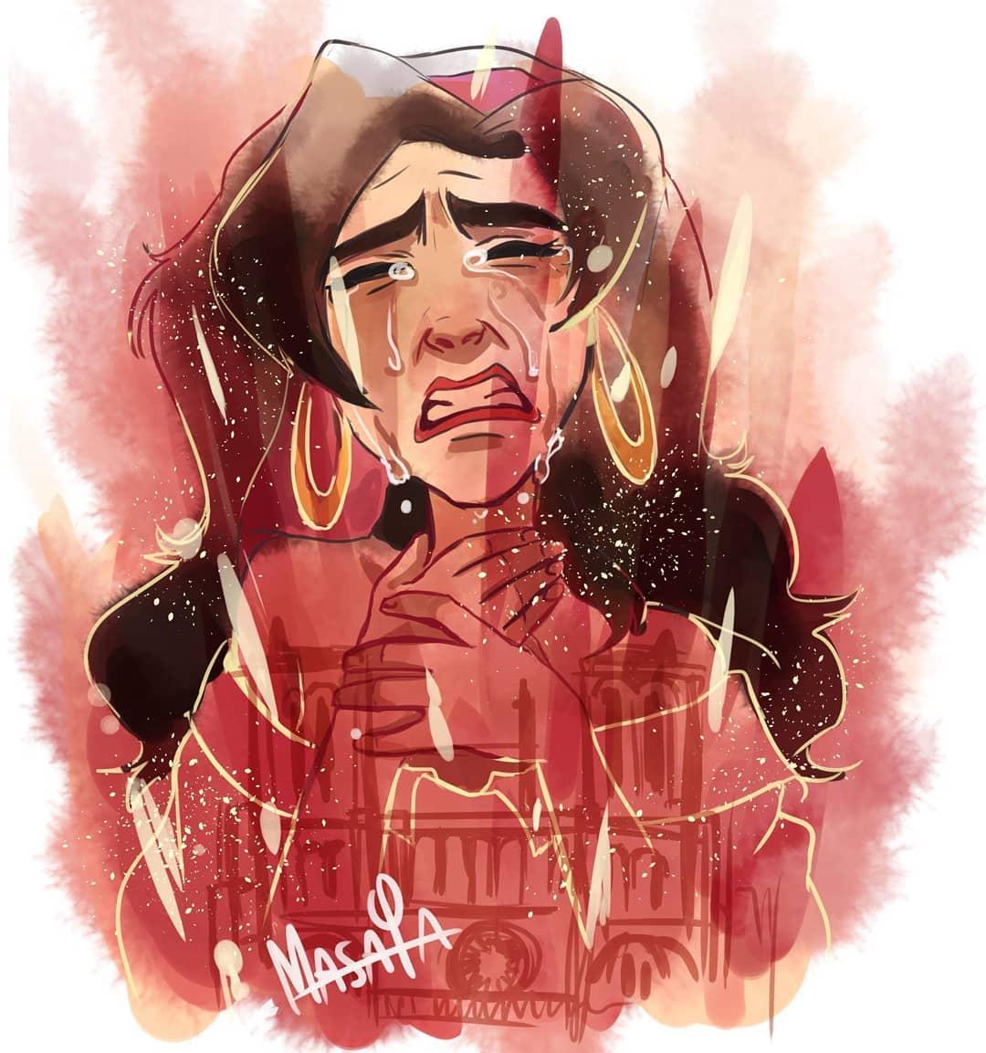 Hommage à Notre Dame de Paris Notre-dame-illustrations-hommage-incendie