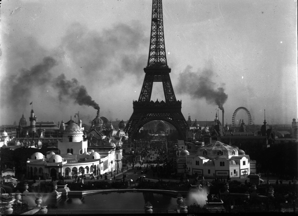 7 photos de Paris prises en 1900 pendant l'Exposition universelle comparées au Paris d'aujourd'hui ! By Mélanie D.  Photos-paris-evolution-1900-1