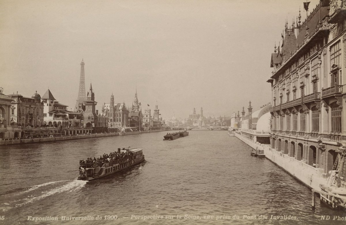 7 photos de Paris prises en 1900 pendant l'Exposition universelle comparées au Paris d'aujourd'hui ! By Mélanie D.  Photos-paris-evolution-1900-11