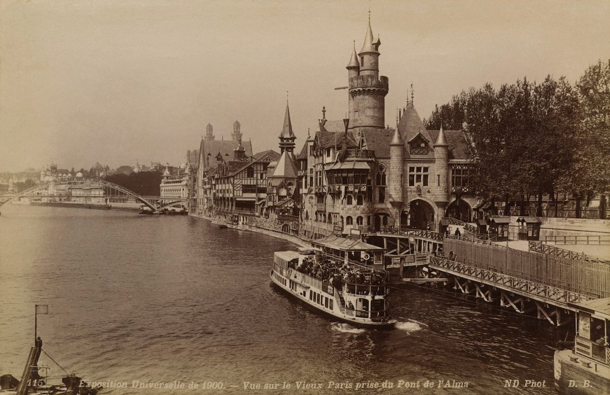 7 photos de Paris prises en 1900 pendant l'Exposition universelle comparées au Paris d'aujourd'hui ! By Mélanie D.  Photos-paris-evolution-1900-5