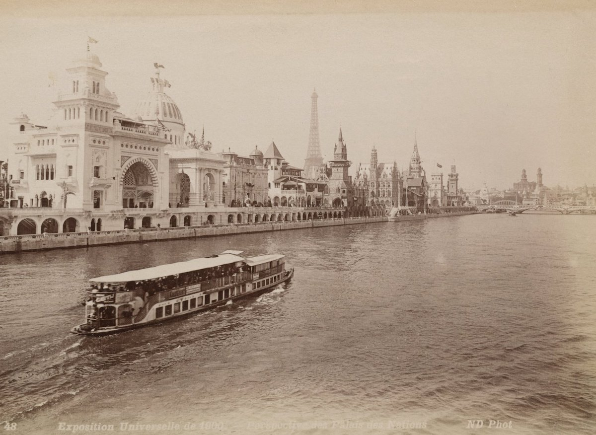 7 photos de Paris prises en 1900 pendant l'Exposition universelle comparées au Paris d'aujourd'hui ! By Mélanie D.  Photos-paris-evolution-1900-9