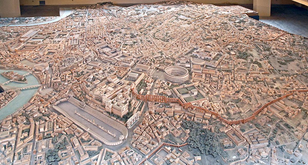 Cet archéologue a passé 36 ans de sa vie à créer la maquette la plus fidèle de la Rome Antique ! By Manon Bodeving 1-Rome-antique
