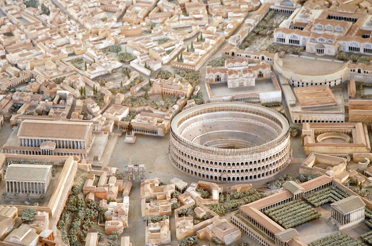 Cet archéologue a passé 36 ans de sa vie à créer la maquette la plus fidèle de la Rome Antique ! By Manon Bodeving 2-Rome-antique