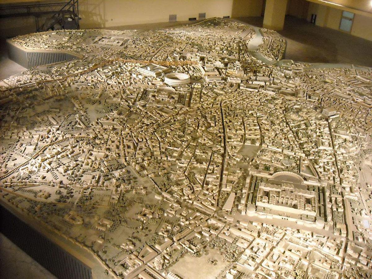 Cet archéologue a passé 36 ans de sa vie à créer la maquette la plus fidèle de la Rome Antique ! By Manon Bodeving 3-Rome-antique