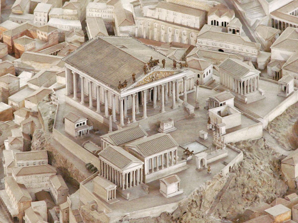 Cet archéologue a passé 36 ans de sa vie à créer la maquette la plus fidèle de la Rome Antique ! By Manon Bodeving 4-Rome-antique