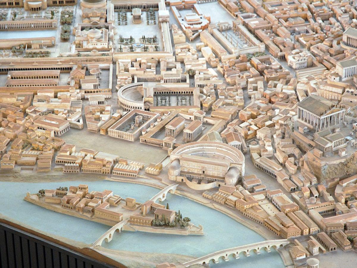 Cet archéologue a passé 36 ans de sa vie à créer la maquette la plus fidèle de la Rome Antique ! By Manon Bodeving 6-Rome-antique