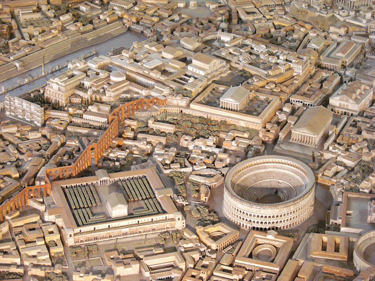Cet archéologue a passé 36 ans de sa vie à créer la maquette la plus fidèle de la Rome Antique ! By Manon Bodeving 7-Rome-antique