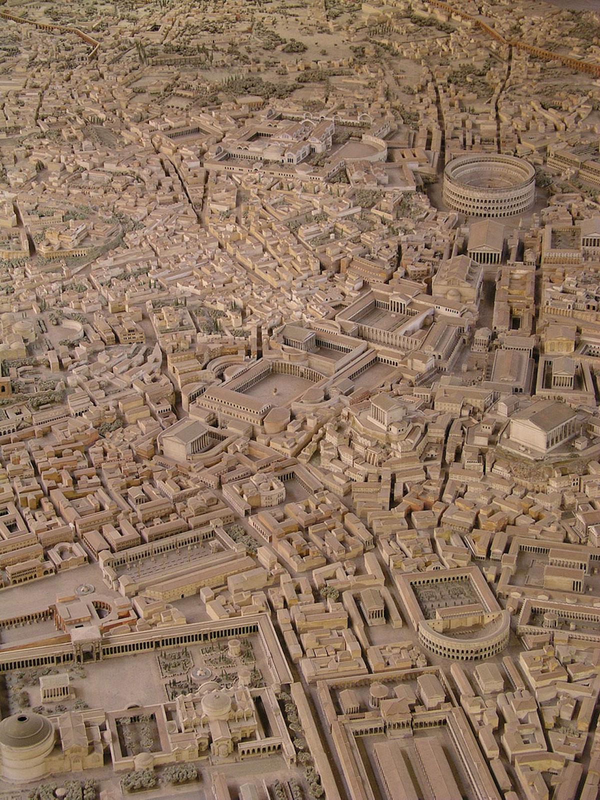 Cet archéologue a passé 36 ans de sa vie à créer la maquette la plus fidèle de la Rome Antique ! By Manon Bodeving 9-Rome-antique