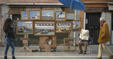 Banksy s'expose discrètement dans les rues de Venise