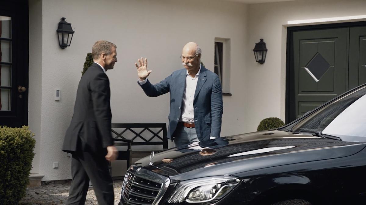 BMW clashe Mercedes-Benz pour le départ de son PDG