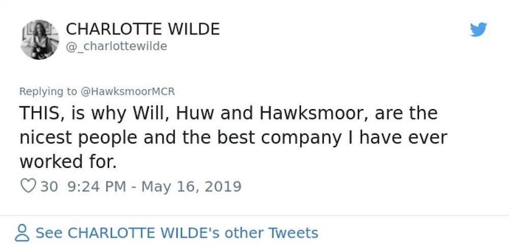 Tweet Hawksmoor
