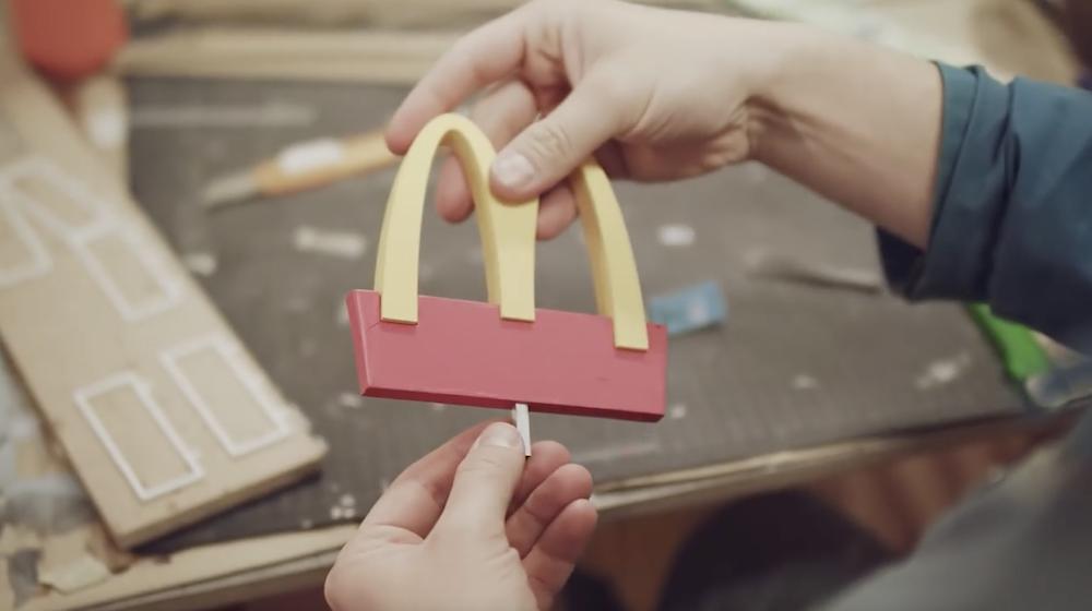 McDonald's Ruche Abeilles