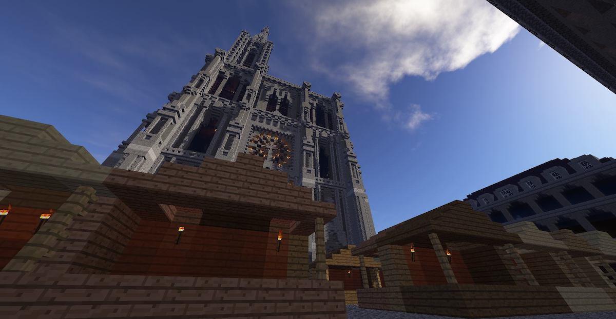 Strasbourg sur Minecraft
