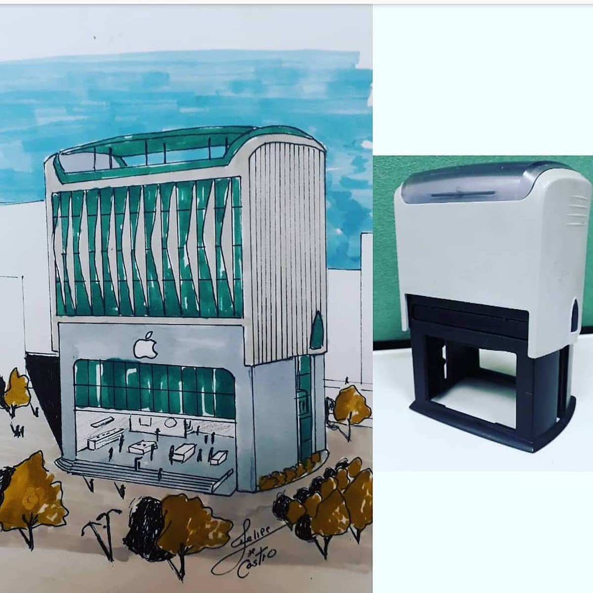 Felipe de Castro transforme les objets en bâtiments