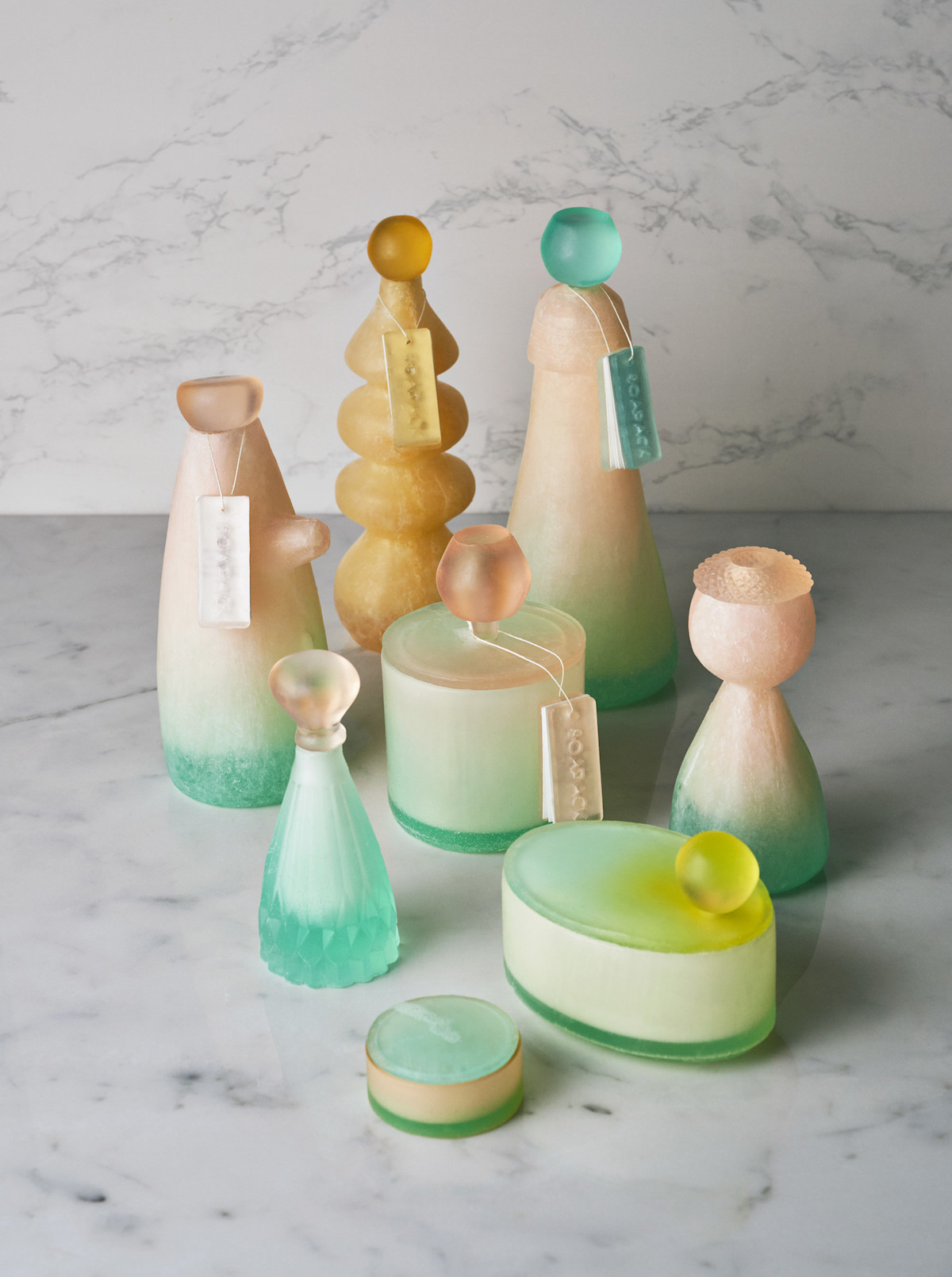 Mi Zhou bouteilles en savon