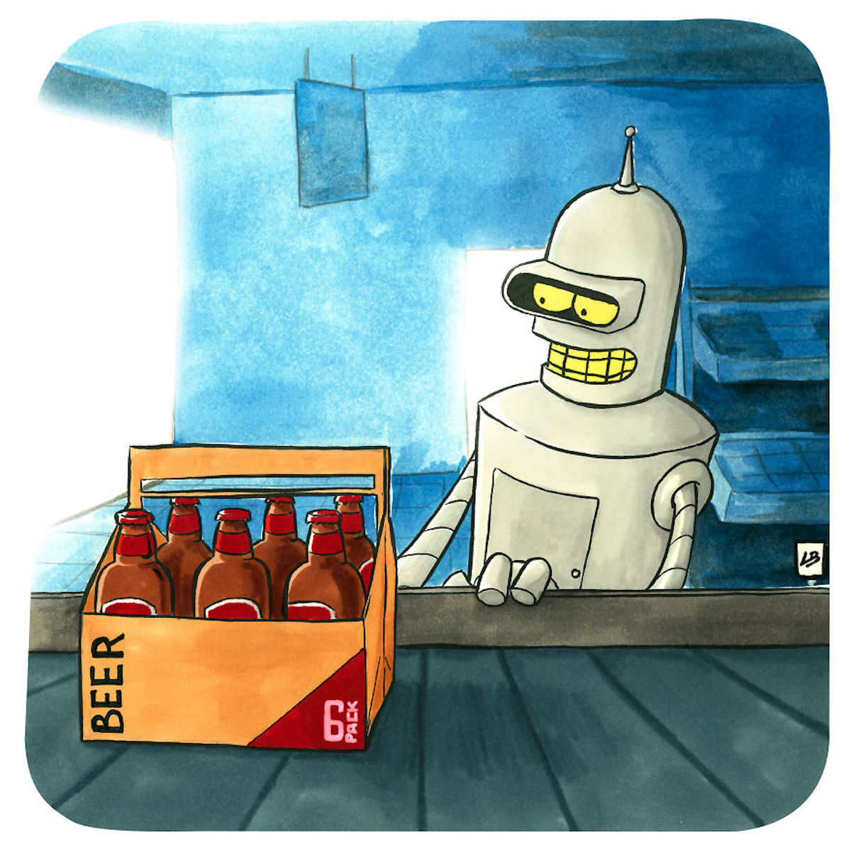 Bender bières Linda Bouderbala