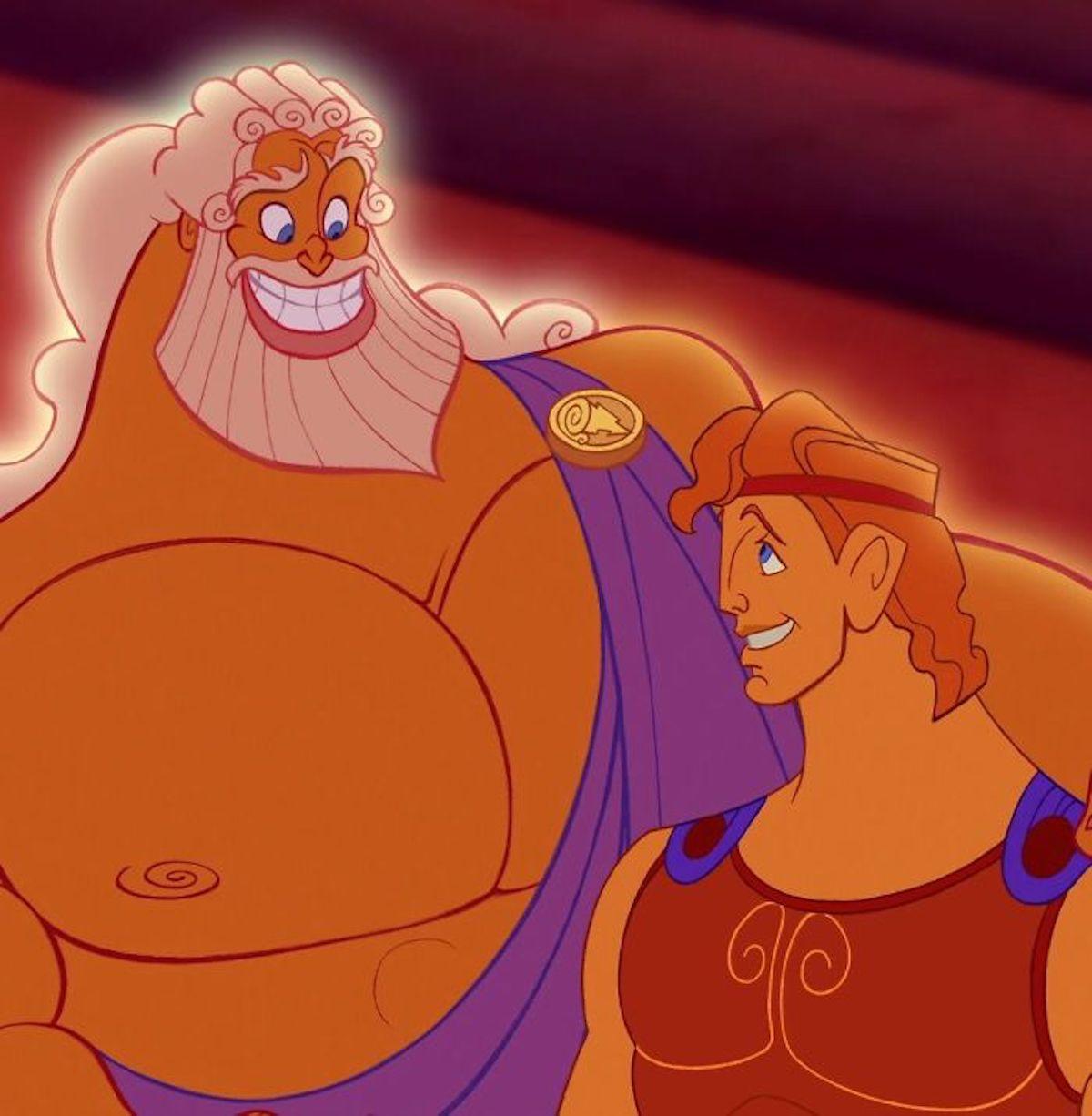 Illustrations Zeus père d'Hercule Jirka Väätäinen