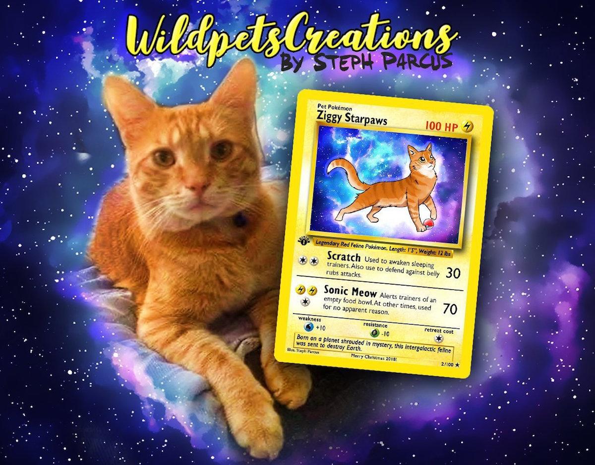 Carte Pokémon Animaux de compagnie WildpetsCreations