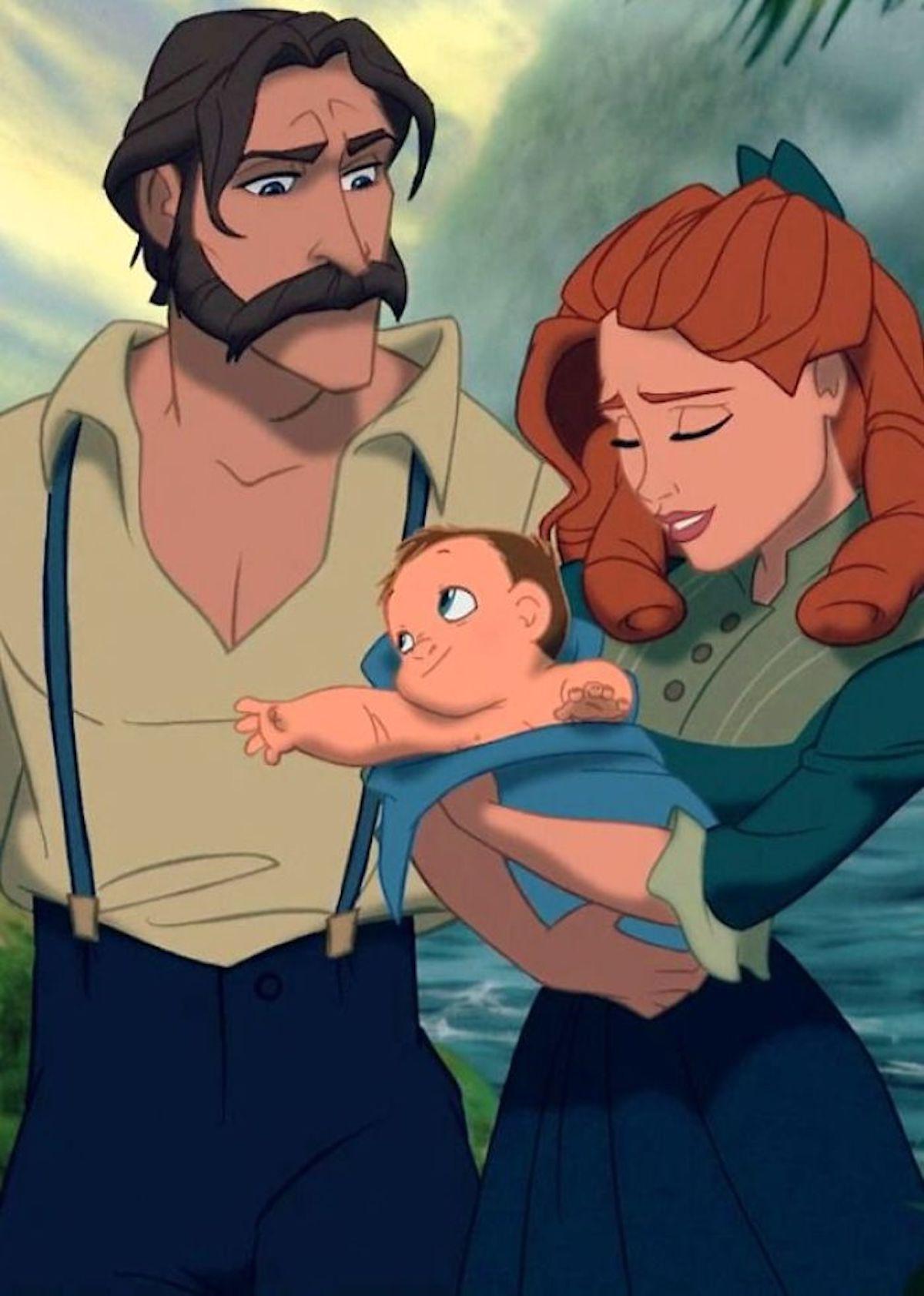 Illustrations John père de Tarzan Jirka Väätäinen