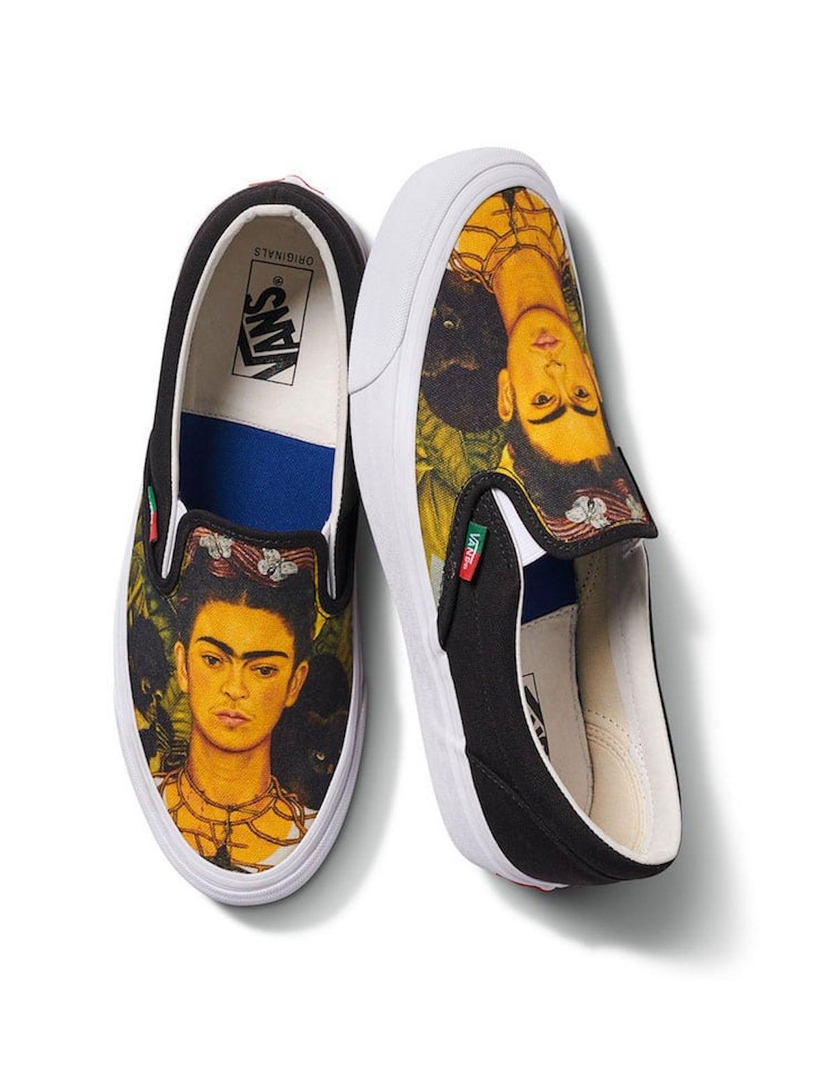 Vans Frida Kahlo musée Van Gogh