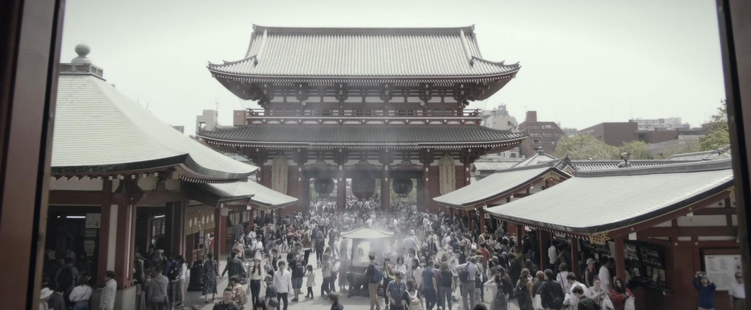 Ce film de 4 minutes propose un voyage express au Japon, entre tradition et modernité ! By Thomas R. Court-metrage-beaute-japon-7