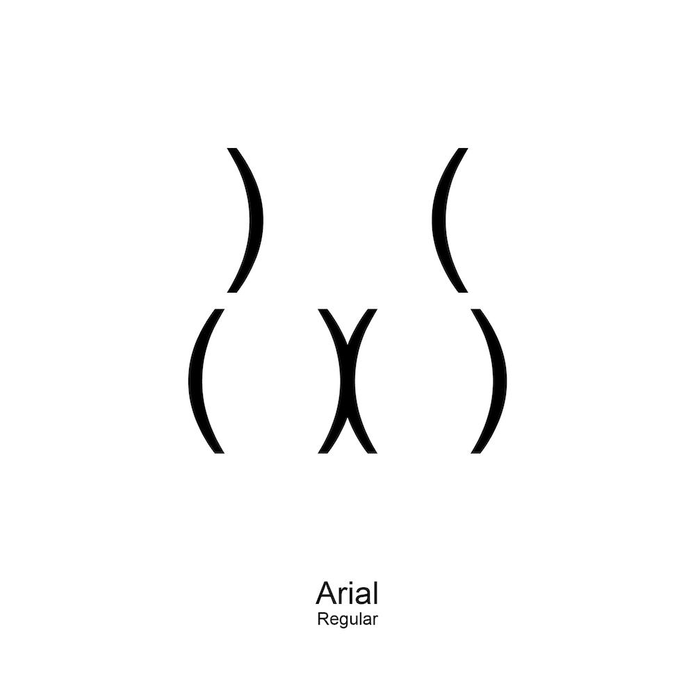 Viktor Hertz Typographie Fesses