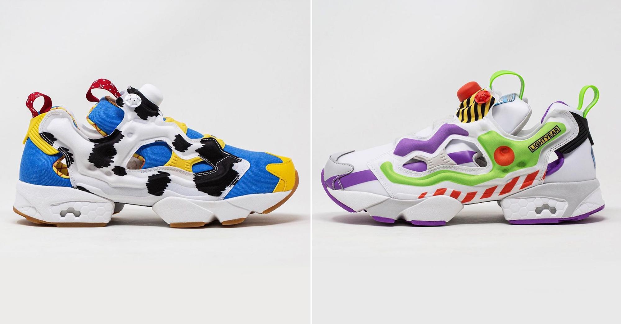 4b100c48a06c Pour la sortie de Toy Story 4, Reebok dévoile des sneakers en hommage à  Woody et Buzz l'Éclair