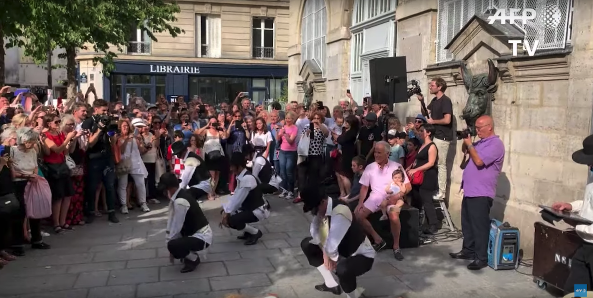 Flashmob Rabbi Jacob Paris