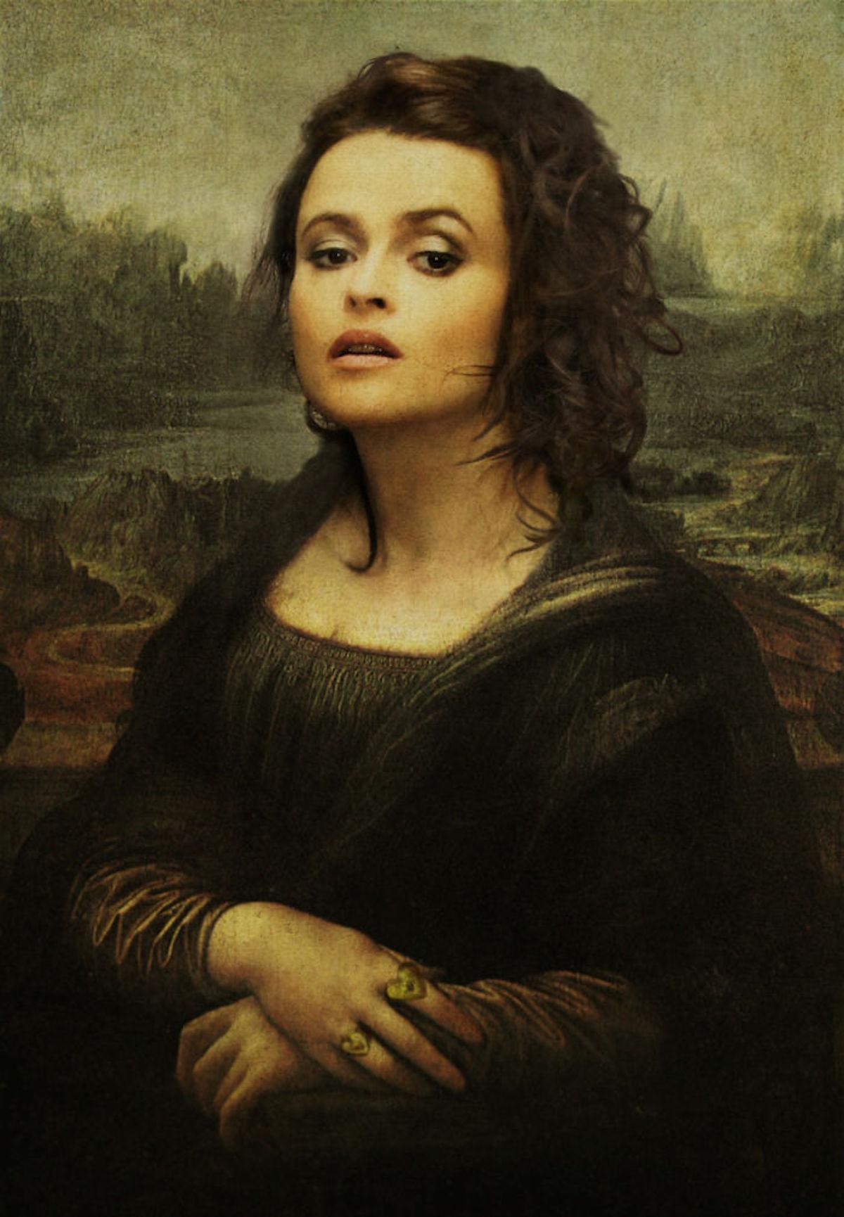 Helena Bonham Carter Art Digital Design Crowd