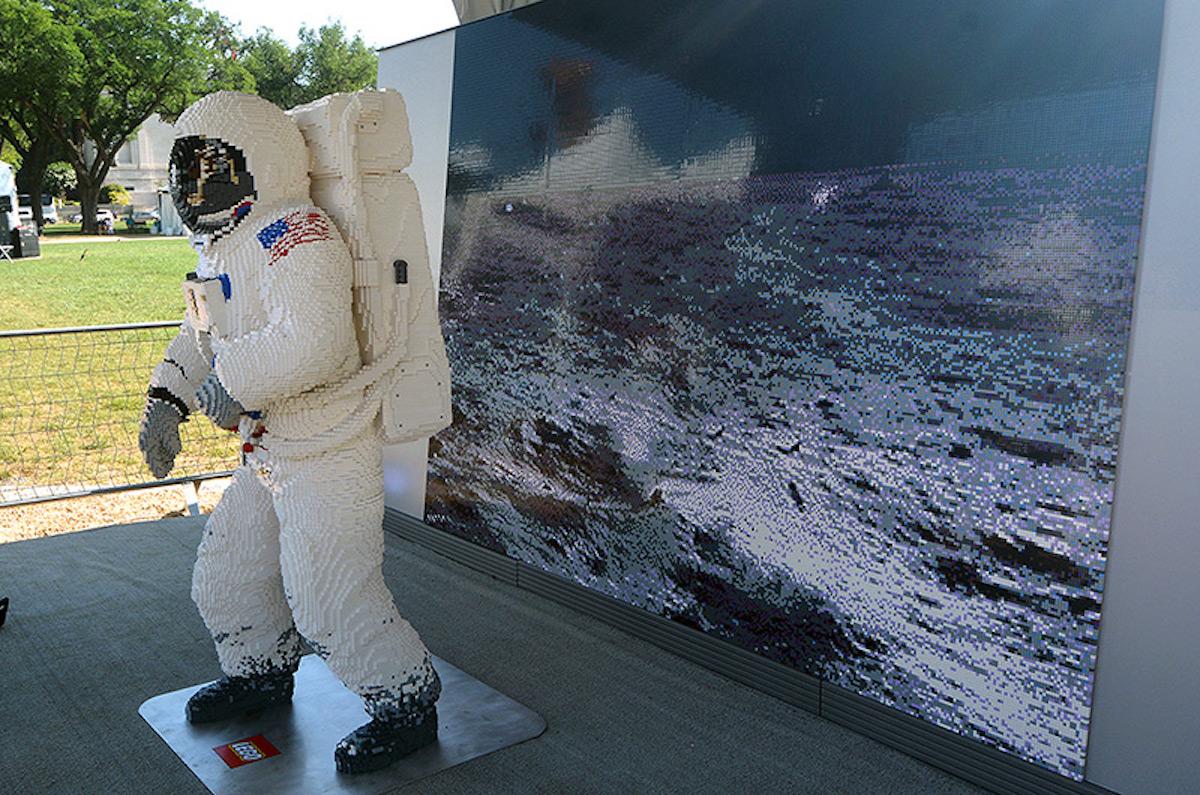 LEGO astronaute 50 ans Lune