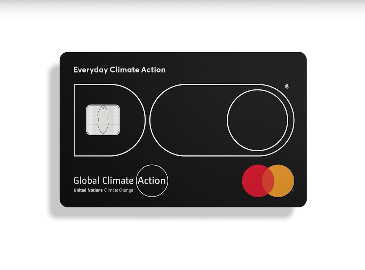 Carte bancaire Mastercard Doconomy
